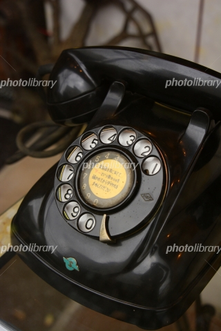 6191579 黒電話