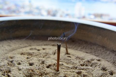 6499881 線香の煙