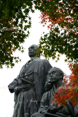 6551376 坂本龍馬と中岡慎太郎の像