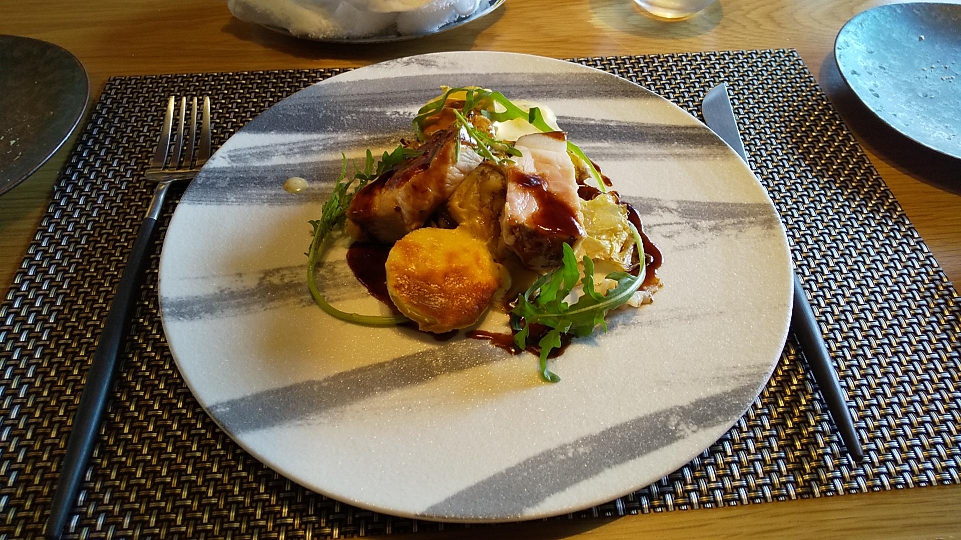 糸島豚肉ロース肉のロティ