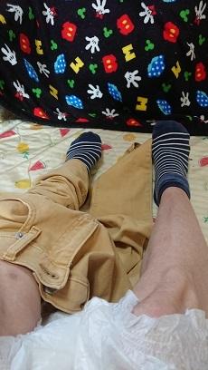 おかんの足