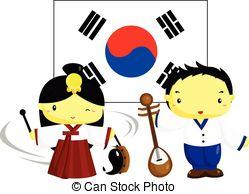 韓国-文化-そして-旗-epsベクター_csp26123685