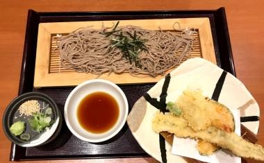 天ぷらとそばセット