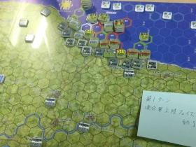第一波連合軍上陸