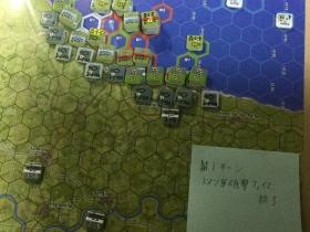 第1ターンドイツ軍砲撃終了