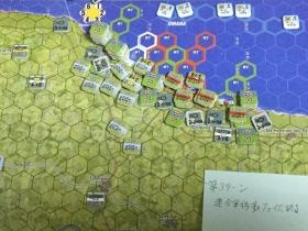 第3ターン 連合軍移動フェイズ終了