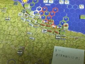 第3ターン 連合軍戦闘フェイズ終了