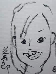 キョンキョン似顔絵_b