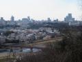 街を眺める