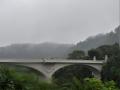 大橋と青葉山