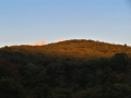 赤い青葉山