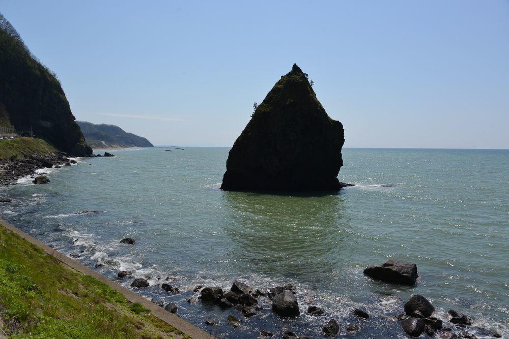 立岩と崖-4