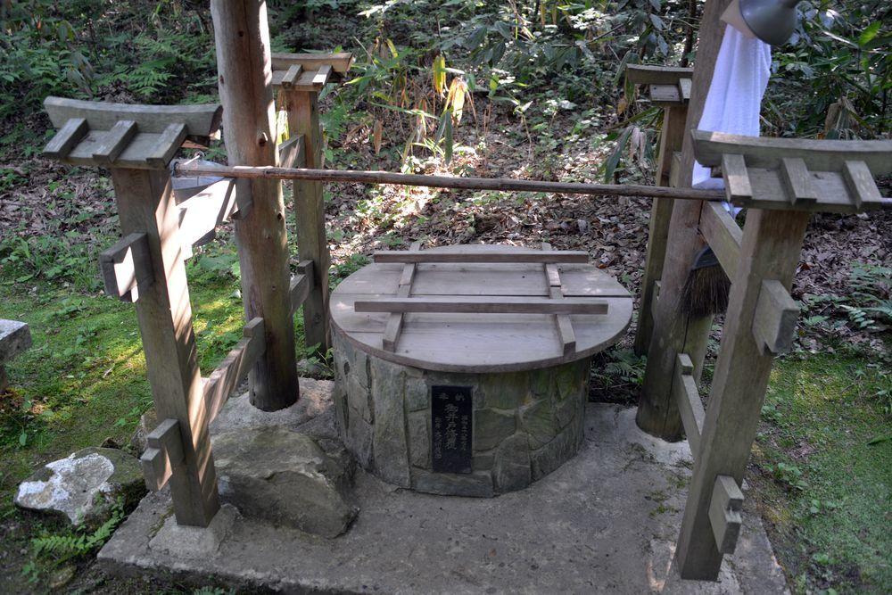 湯神社井戸