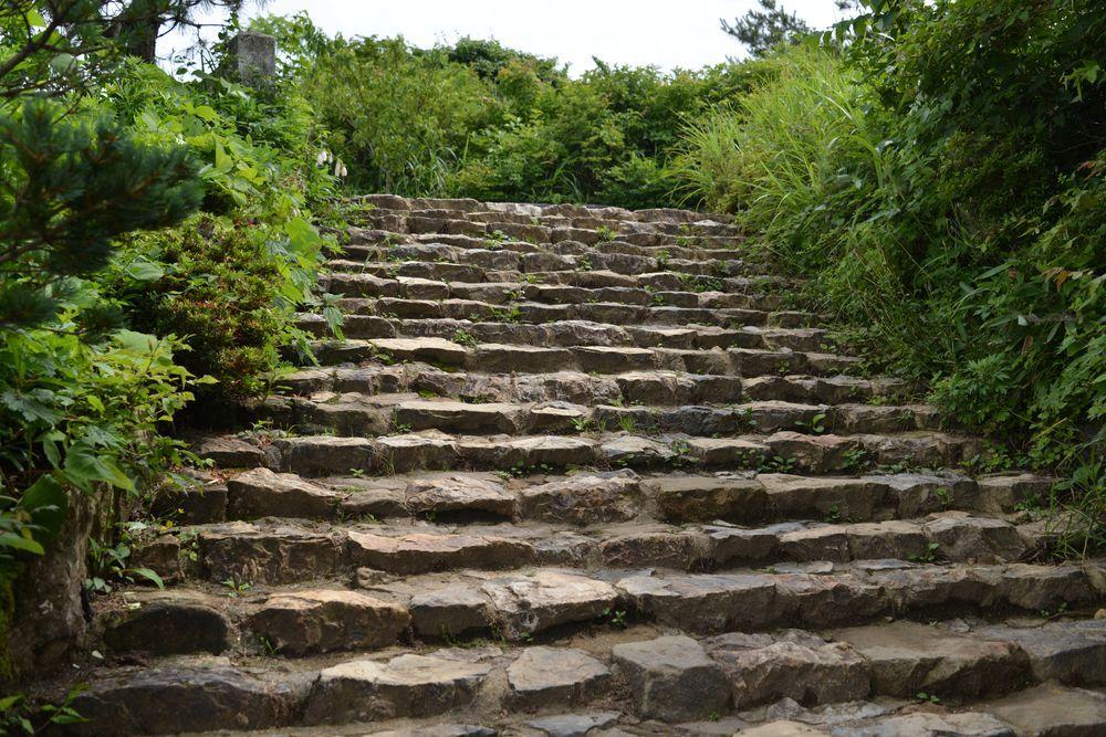 弥彦神社の奥社-4