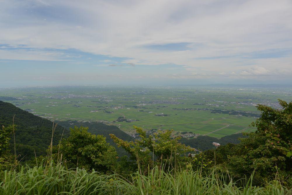 山頂からの景色-1