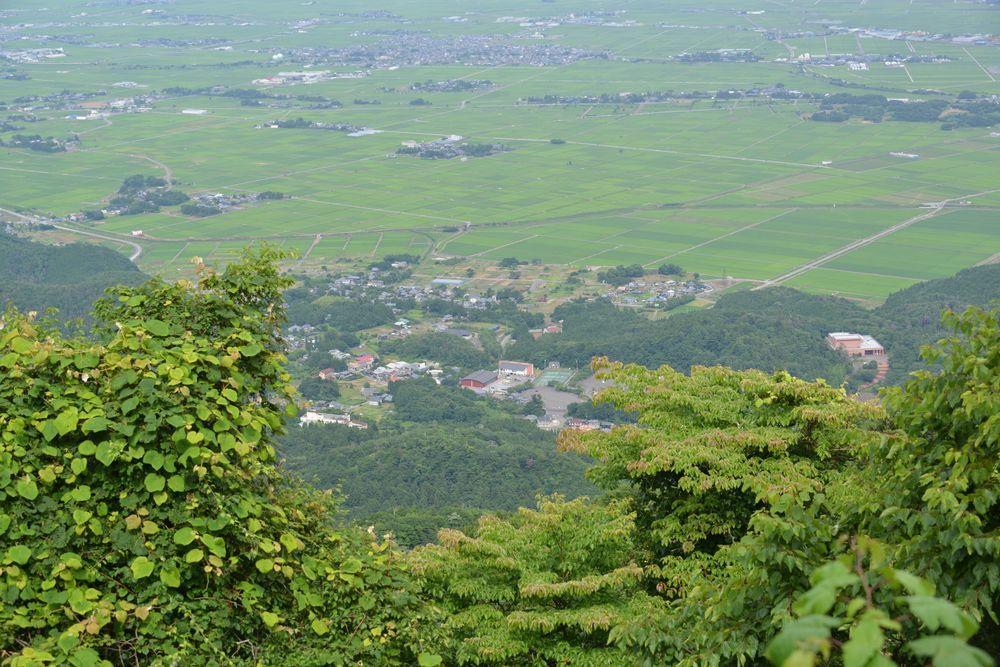 弥彦山山頂からの景色-6