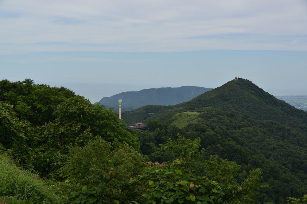 弥彦山山頂からの景色-7