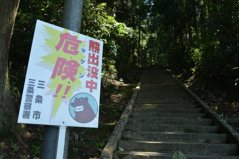 石動神社石段-3