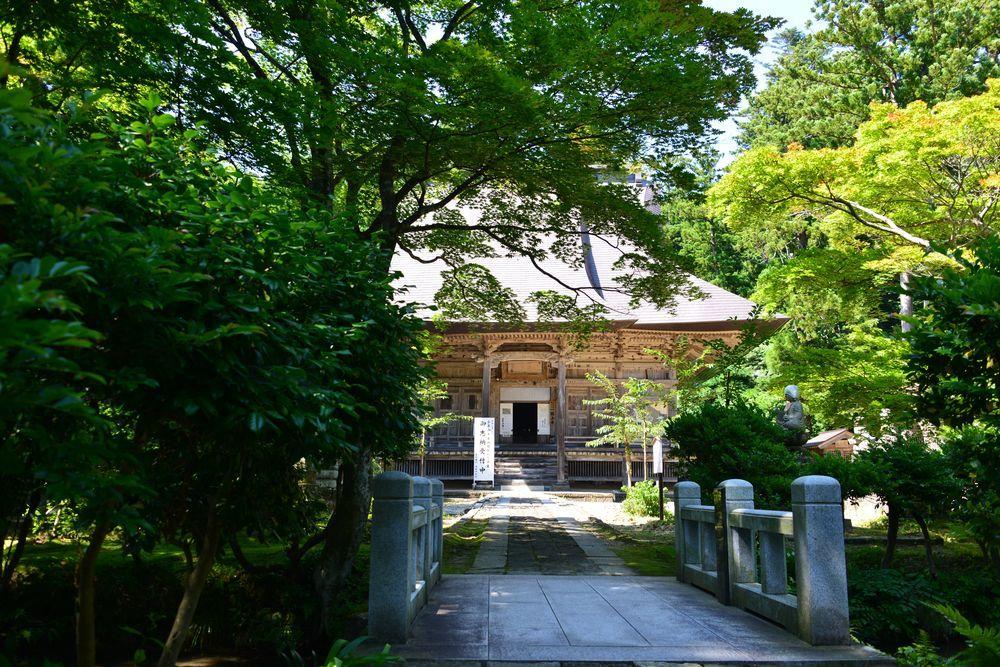 夏の国上寺-1