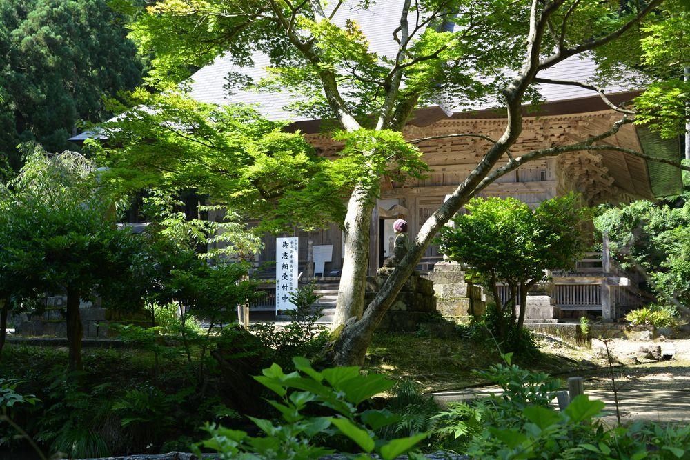 夏の国上寺-2