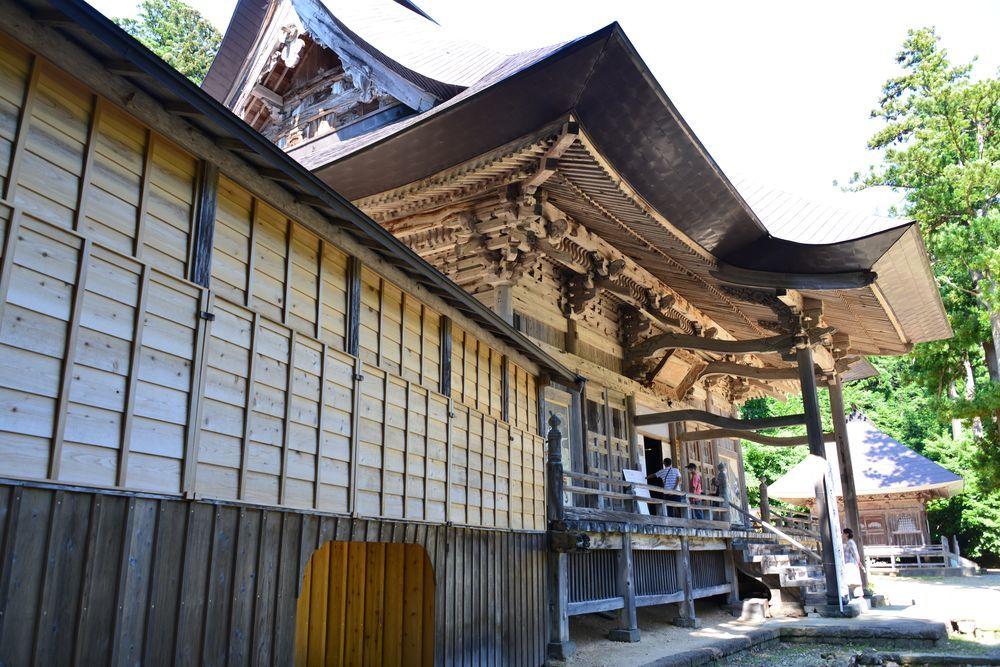 夏の国上寺-4