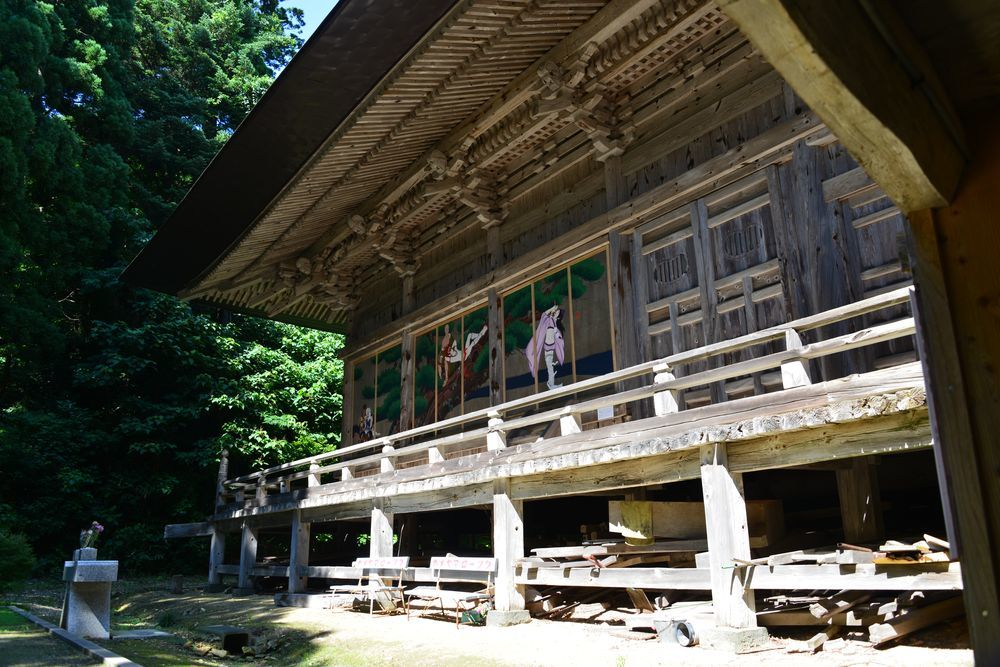 夏の国上寺-5