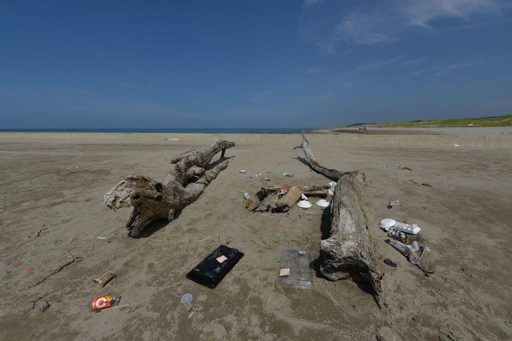 砂浜に-3