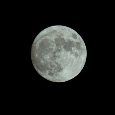 Halloween moon 2020