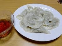 200412餃子の皮2枚使った水餃子