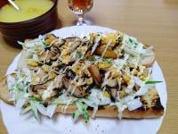 200415玉ねぎ&キュウリサラダと椎茸と卵のソテーバケットDSC_0057