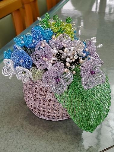 夏の風物詩紫陽花