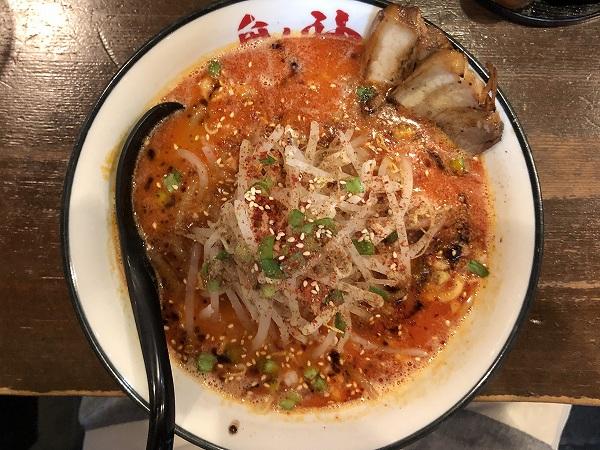 辛く痺れる味噌拉麺鬼神@広島市中区