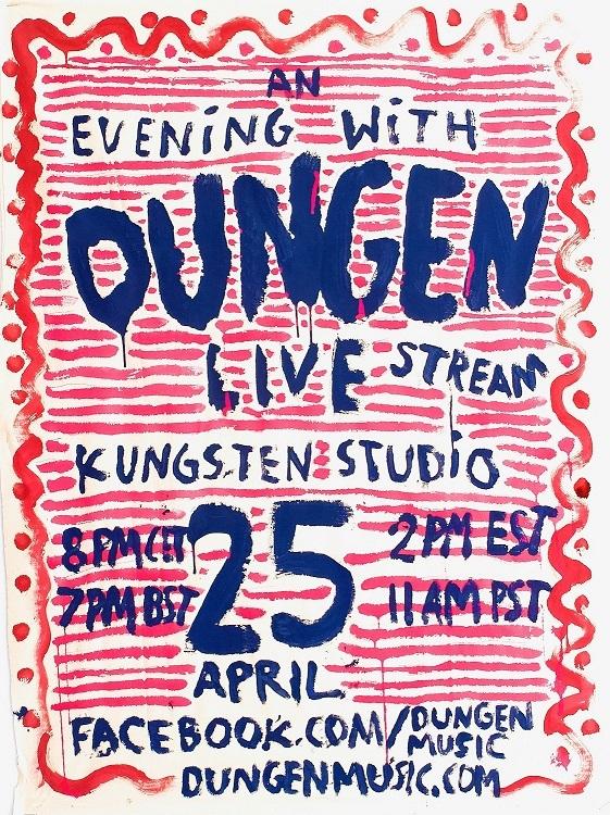 Dungen Facebook Live performance