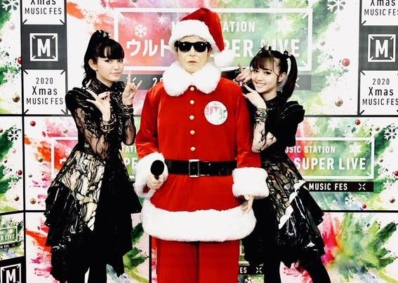 BABYMETAL出演のMステ・スーパーライブをワイワイ☆ガヤガヤとコメント中継で楽しもう!