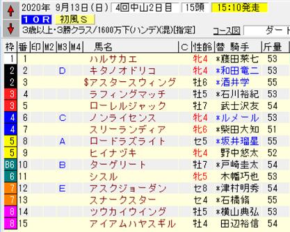 20初風S