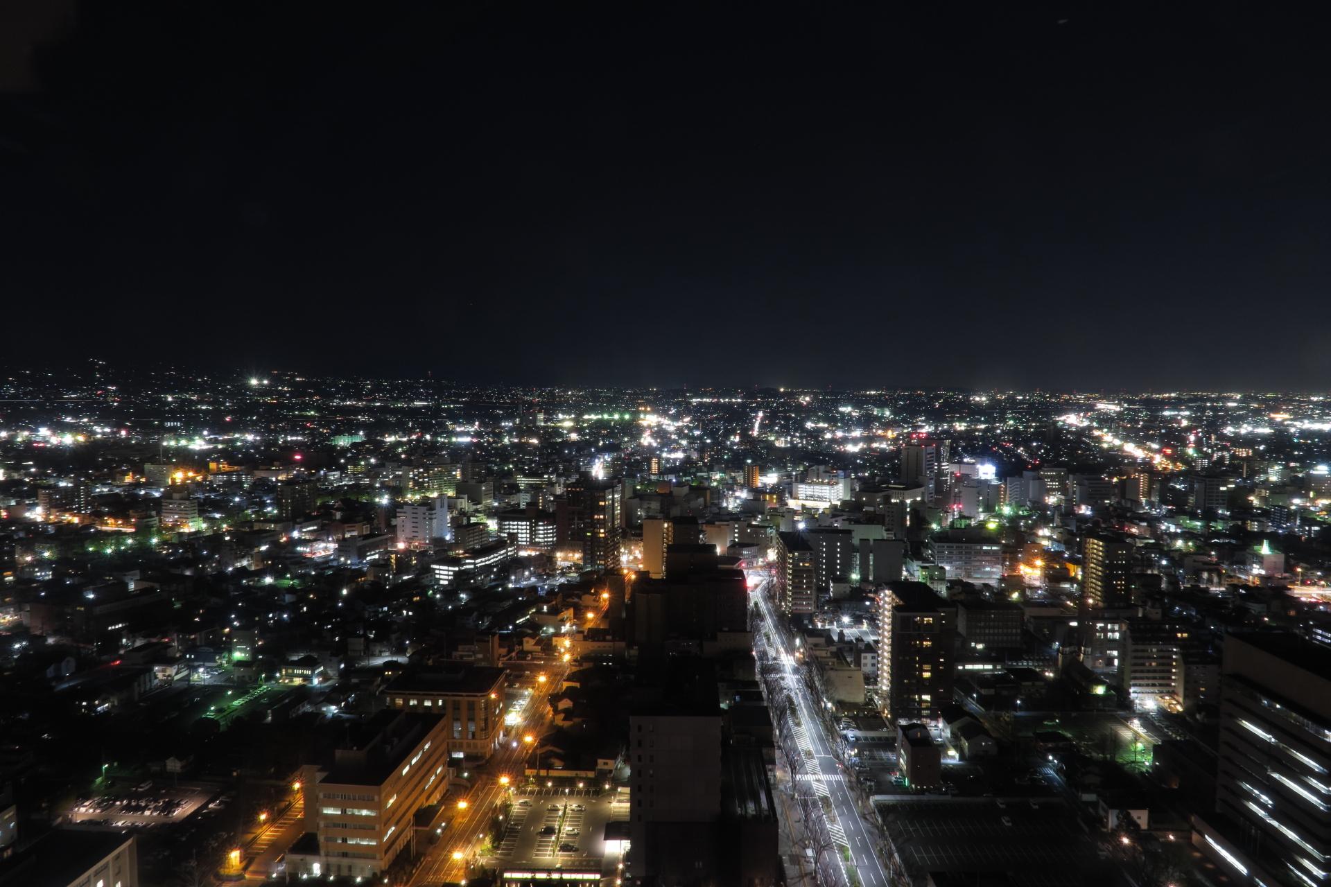 群馬県庁からの夜景