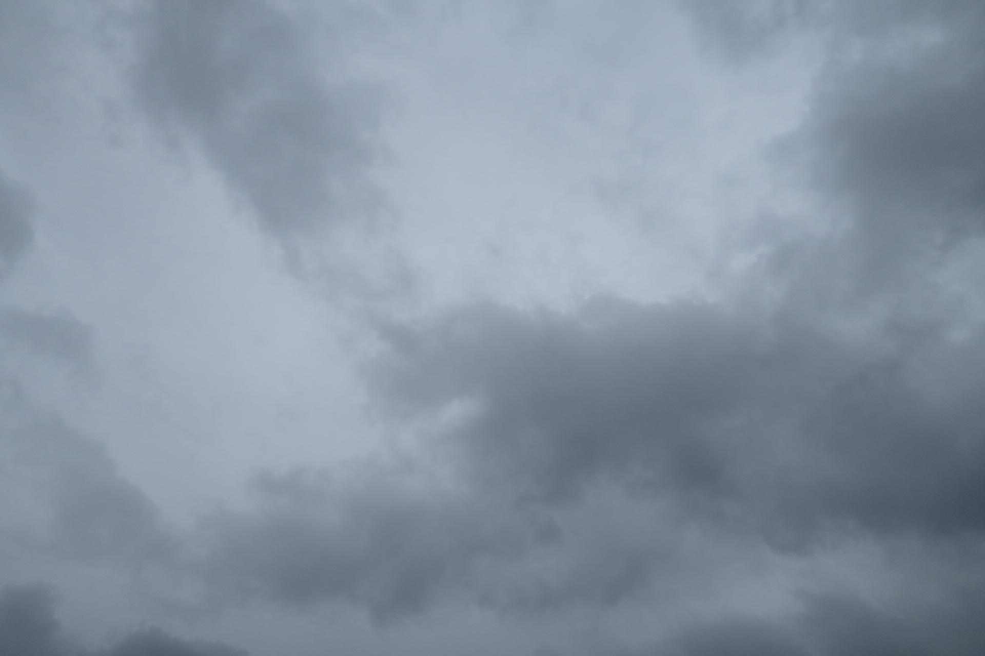 今日の雲 夕方