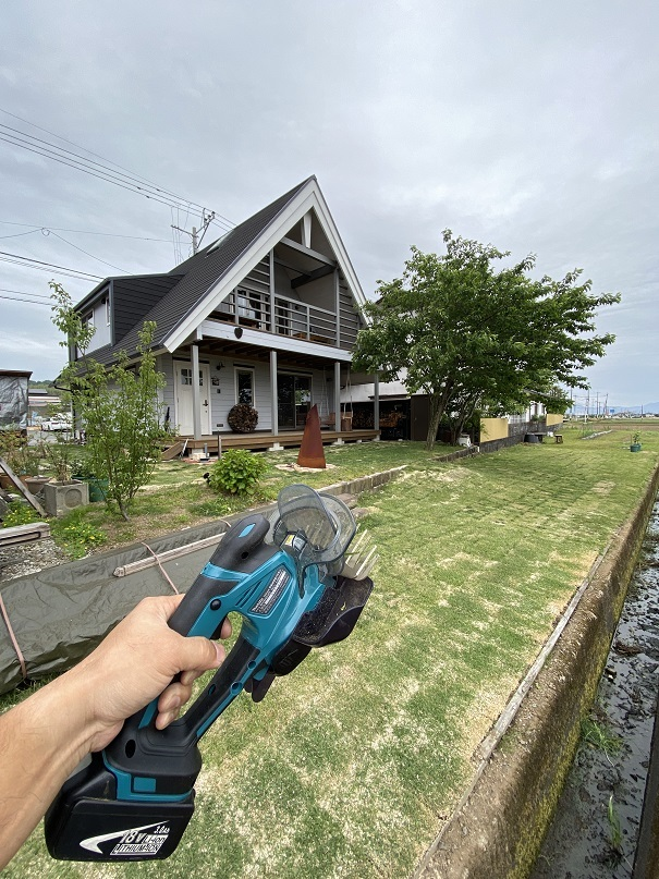 芝刈りハサミ (3)