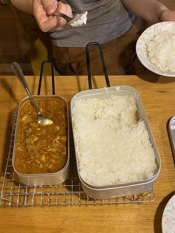 自宅キャンプ飯 (6)