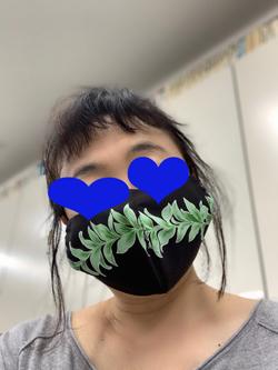 04マスク装着
