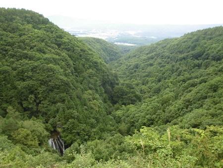 横谷観音展望台から王滝