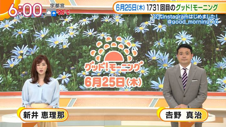 2020年06月25日新井恵理那の画像12枚目