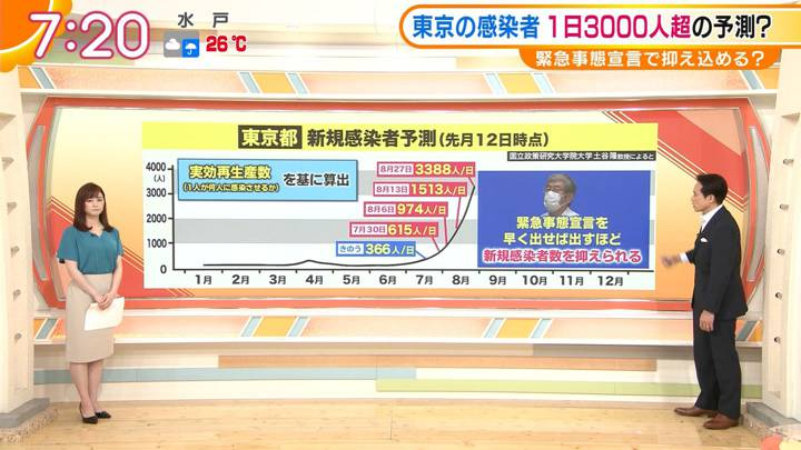 2020年07月24日新井恵理那の画像14枚目