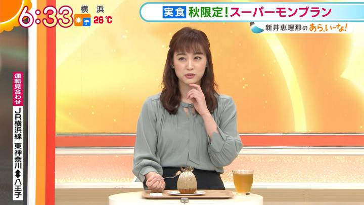 2020年10月05日新井恵理那の画像12枚目