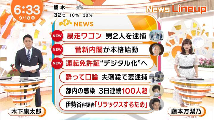 2020年09月18日藤本万梨乃の画像12枚目
