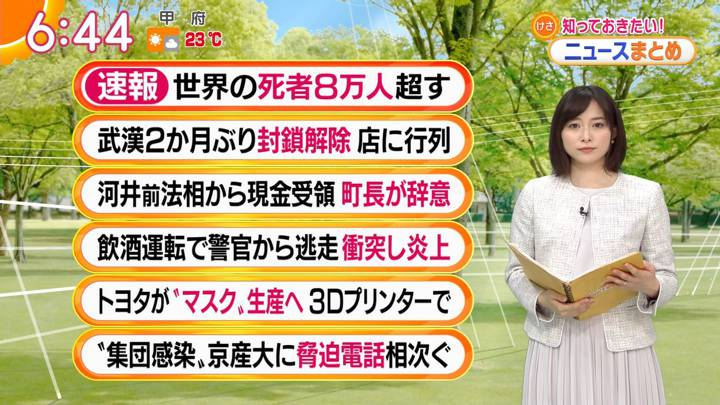 2020年04月08日久冨慶子の画像16枚目