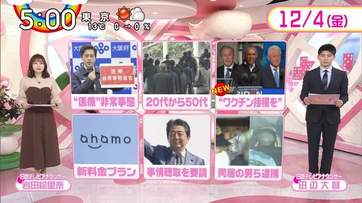 2020年12月04日岩田絵里奈の画像10枚目