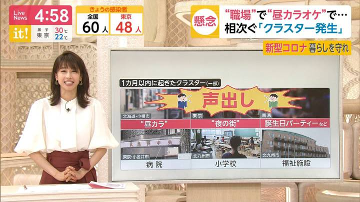 2020年06月25日加藤綾子の画像06枚目
