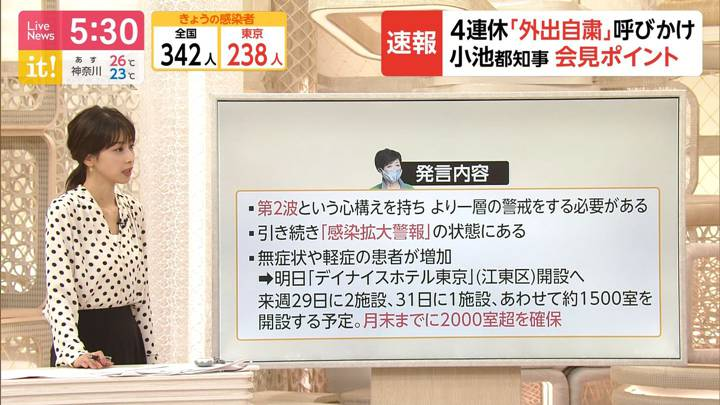 2020年07月22日加藤綾子の画像04枚目