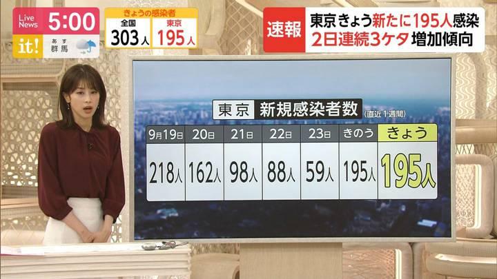 2020年09月25日加藤綾子の画像07枚目